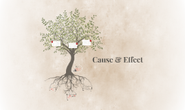 Copy of Cause & Effect