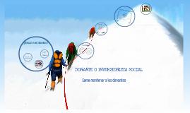 DONANTE O INVERSIONISTA SOCIAL