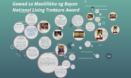 Copy of Gawad sa Manlilikha ng Bayan