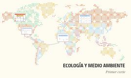 Ecología y sus campos de estudio