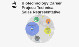 Biotechnology Career Project: Technical Sales Representative