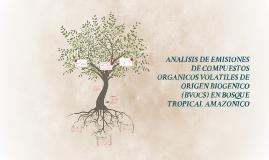 ANALISIS DE EMISIONES DE COMPUESTOS ORGANICOS VOLATILES DE O