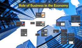 Role of Business in the Economy