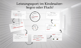 Copy of Leistungssport im Kindesalter-