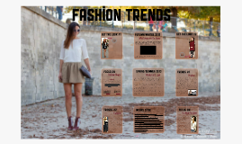 Copy of Fashion trends