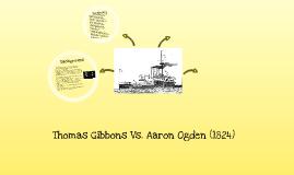Thomas Gibbons Aaron Ogden
