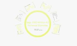 Sage 1000 V4.0 Technical Overview