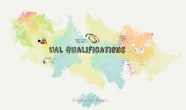 UAL Qualifications