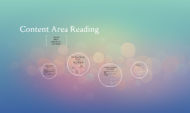 Copy of Content Area Reading