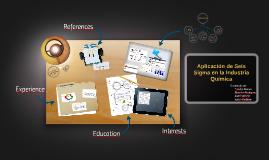 Aplicación de Seis Sigma en la Industria Química