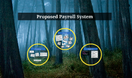 Proposed Payroll System