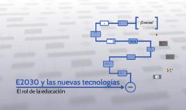 Copy of E2030 y nuevas tecnologías
