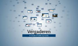 Copy of Vergaderen