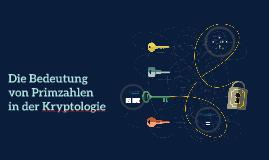 Die Bedeutung der Primzahlen in der Kryptographie