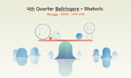 17/18 - 4th Quarter Bellringers - Rhetoric