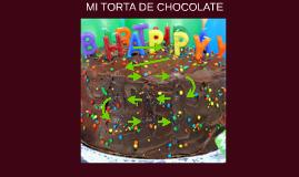 MI TORTA DE CHOCOLATE
