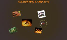 ACCOUNTING CAMP 2014