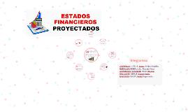 Copy of Estados Financieros Proyectados