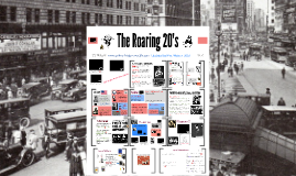 Foundations-  The Roaring 20's
