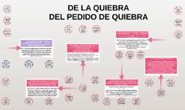 UNIDAD IX LEY - DE LA QUIEBRA