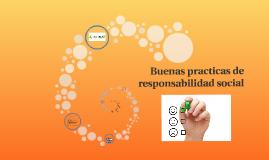 Buenas practicas de responsabilidad social