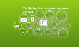 Effects of Reiki on Anxiety, Depression, and Pain