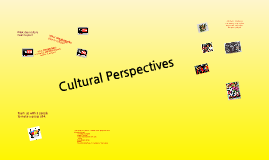 Copy of Cultural Perspectives