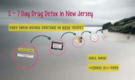 7 Day Detox Drug Rehab In New Jersey