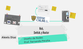 Hub, Switch y Router
