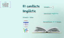 El conflicte lingüístic