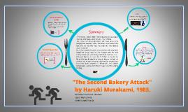 Copy of The Second Bakery Attack by Murakami Haruki.