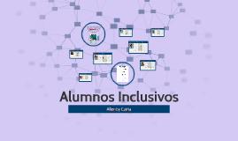 Alumnos Inclusivos