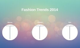 Fashion Trends 2014