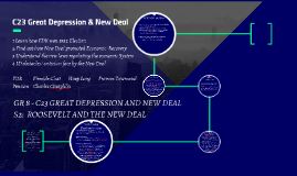 C23 Great Depression & New Deal