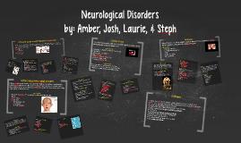Copy of Neurological Disorders