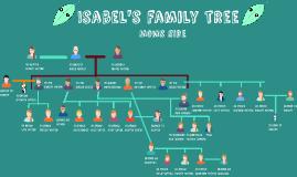 Isabel's family tree