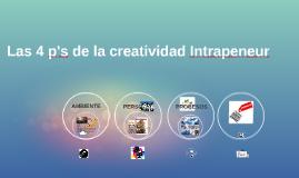Copy of Las 4 p's de la creatividad Intrapeneur