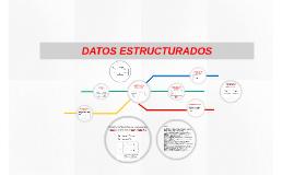 DATOS ESTRUCTURADOS