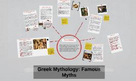Greek Mythology: Famous Myths