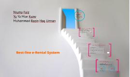 Best-line System - eRental System
