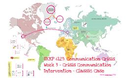 SKKP6123 Comm Crisis Intervention Classic Case