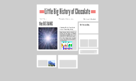 Little Big History of Chocolate