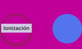 Ionización