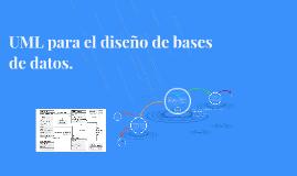 Copy of UML para el diseño de bases de datos.