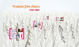 Copy of President John Adams