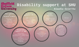 Disability support at SHU