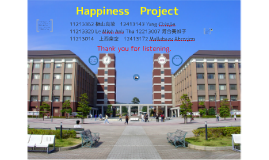 Happiness Project in APU