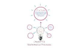 Chapter 13:  Mathematical Processes