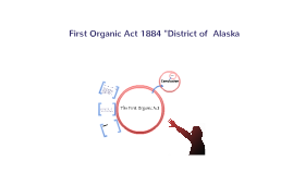 The First Organic Act of 1884