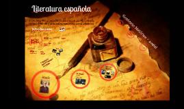 Copy of Literatura española: del siglo XIX al siglo XX. La generación del '98. Contexto histórico-social y principales manifestaciones literarias